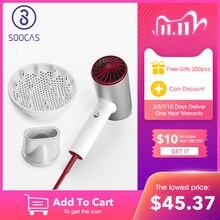SOOCAS H5 Ion négatif sèche cheveux 1800W professionnel sèche cheveux en alliage daluminium puissant sèche cheveux électrique froid Air chaud circulant