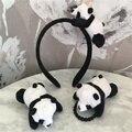 Новый несколько моделей, в стиле «Little Panda», кукла-леди девушки подарок плюшевые игрушки требуемого Hairtie, повязка на голову
