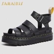 Sarairis New Arrivals Fashion Comfortable Flat With Gladiator Vacation Easy Walk