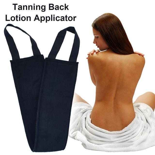 Back Applicator Pad for Self Tanner to Prevent Tan Stain on Hands for all Self Tanners (Back Applicator Band)