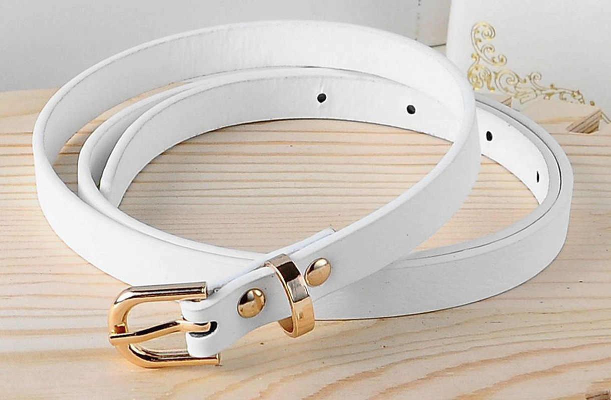 1PC נקבה דק חגורת נשים 2020 גבוהה באיכות רצועת נשים עור ילדים מכנסיים חגורות גבירותיי על שמלות מעצב חגורת