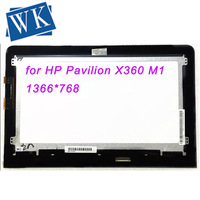 Replacement for HP Pavilion X360 M1 Touch Screen Digitizer Assembly LED LCD Screen Display Matrix for 11.6 laptop Tested