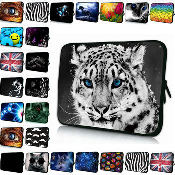 Duo Zippers 7 10 11 12 13 14 15 15.6 17 Inch Laptop Bag Computer Sleeve Case Shockproof Cover For iPad Pro Sumsung Macbook Chuwi