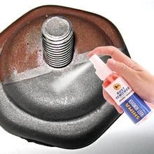 Средство для удаления ржавчины, металлическая поверхность, хромированная краска, обслуживание автомобиля, железная пудра, чистящая жидкость для очистки ржавчины, распыление d90913