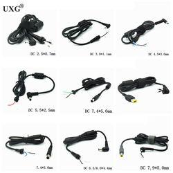 Cabo de alimentação conector dc jack carregador adaptador plug cabo de alimentação para samsung hp dell sony toshiba asus acer lenovo