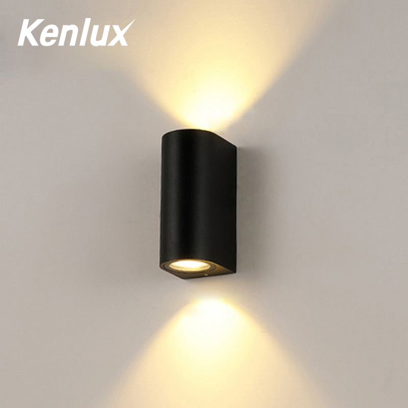 LED Wall Light Outdoor Waterproof IP65 COB LED Porch Lights Modern Home Decor Up Down Aluminum Wall Lamp For Yard Corridor Light