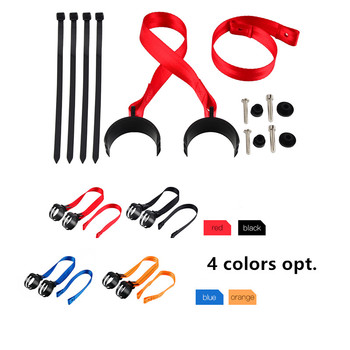 NICECNC Front+Rear Holding Strap Complete Set Tear-Resistant for Enduro 50-70 mm Dia Fork Pipe For KTM 125 SX 150 XC 200 XCW 11 metzeler mce karoo 3 r18 150 70 70r задняя rear