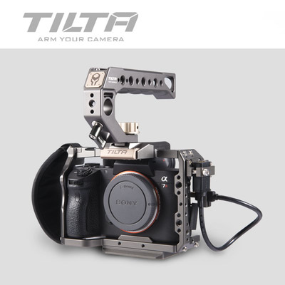 Image 3 - Tilta TA T17 A G Rig Cage For Sony A7II A7III A7S A7S II A7R II A7R IV A9 Rig Cage For SONY A7/A9 series Tiltaing VS Smallring-in Photo Studio Accessories from Consumer Electronics