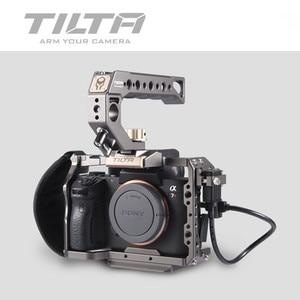 Image 4 - Tilta TA T17 A G Rig Cage For Sony A7II A7III A7S A7S II A7R II A7R IV A9 Rig Cage For SONY A7/A9 series Tiltaing VS Smallring