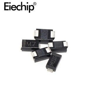 1N4001 1N4002 1N4004 1N4007 1N5819 1N5822 1N5824 SMD Rectifier diode SMA package for various PCB boards