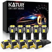 10x W5W T10 LED لمبات 168 194 القراءة مصابيح داخلية لمرسيدس بنز W221 W210 W212 W203 W205 W124 W163 W211 الآس SLK GLK