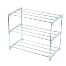 Simple Multi Layer Shoe Rack Stainless Steel Easy Assemble Storage Shelf Shoe Cabinet stainless steel shoe rack oxford cloth simple shoe rack dormitory multilayer shoe storage rack stackable storage rack