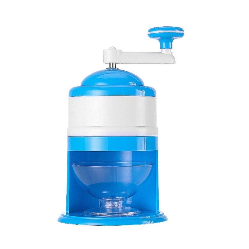 Household Mini Easy Ice Shaver Crusher Handheld Snow Manual Crushing Ice Machine