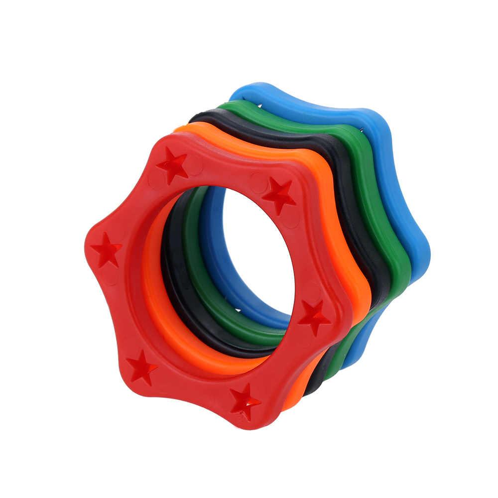 5 szt. Gumowy bezprzewodowy mikrofon ręczny antypoślizgowy pierścień zabezpieczający