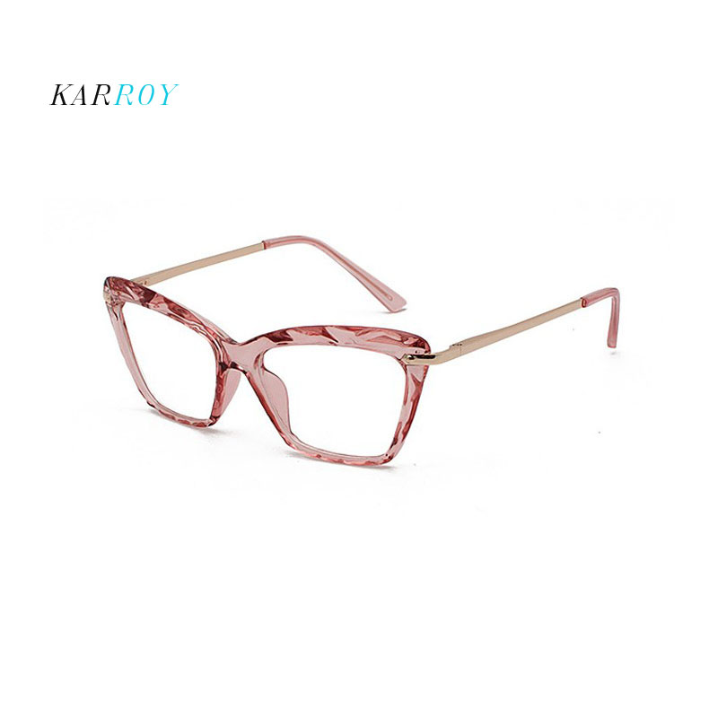 Fashion Myopia Eyeglasses Frame Women Trendy Unisex Plain Glasses 2019 New Men Eyewear Optical Frame