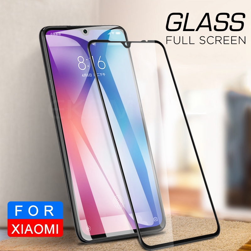 Image 5 - Full Cover Protective Glass For Xiaomi Mi 9 Mi9 CC9 Screen Protector For Xaomi Mi9 SE Front Tempered Glass + Back Camera Glass-in Phone Screen Protectors from Cellphones & Telecommunications