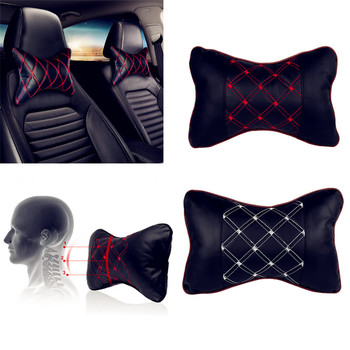 Car Pillow Headrest Seat Head Neck Rest Cushion Pad for Kia KND-4 Spectra5 Spectra Rio5 Multi-S Amanti Opirus Magentis Borrego image