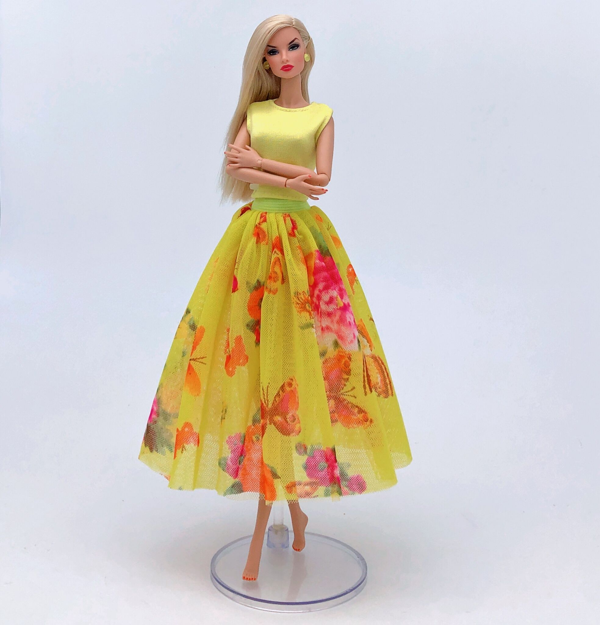 Party Dress Top Skirt Clothes For Barbie 1/6 Original Doll Accessories Costume Play House Casual Dressing Up Child Toys Gift