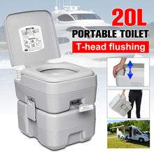 20L Outdoor Portable Camping toaleta karawana Travel Camp żeglarstwo wędkarstwo toaleta spłukiwana