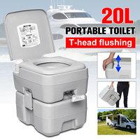 20L Outdoor Portable Camping toaleta karawana Travel Camp żeglarstwo wędkarstwo toaleta spłukiwana w Zewnętrzne narzędzia od Sport i rozrywka na