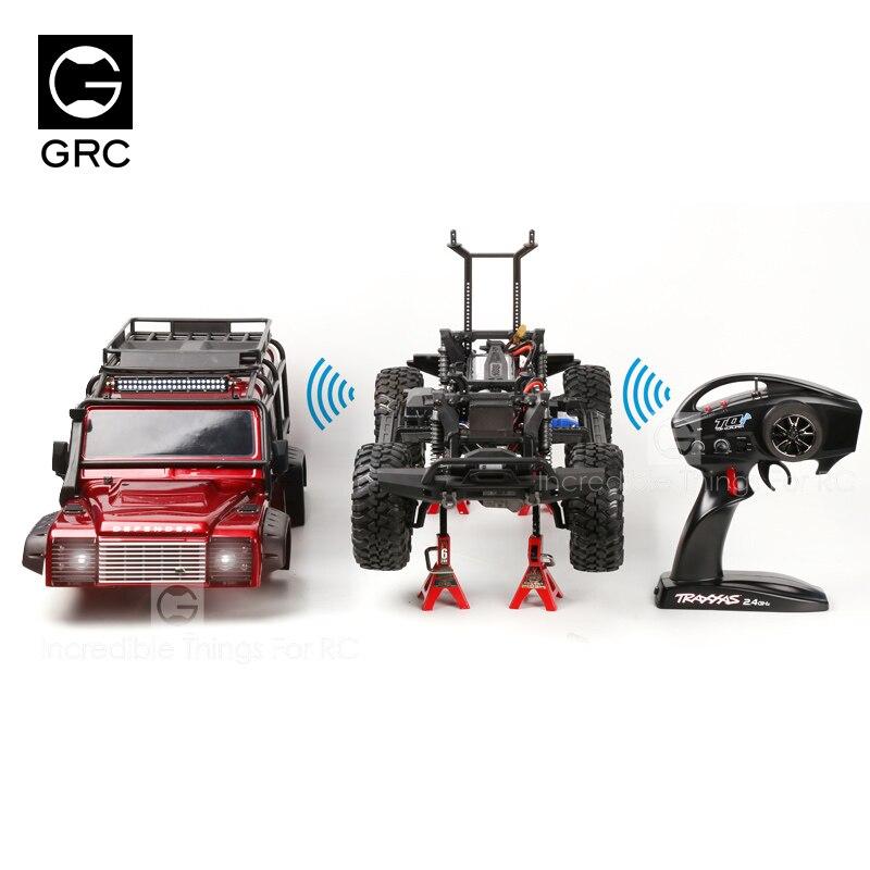 RC Crawler Universal Wireless Linkage Light Group 4 Channel DIP Version For 1/10 Traxxas TRX4 Climbing Car Drift Car