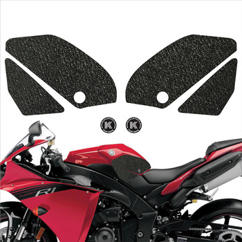 Motorcycle tank grip fuel tank traction pad side knee grip protector KSHARPSKIN for YAMAHA 2009-2014 YZF-R1 YZF R1