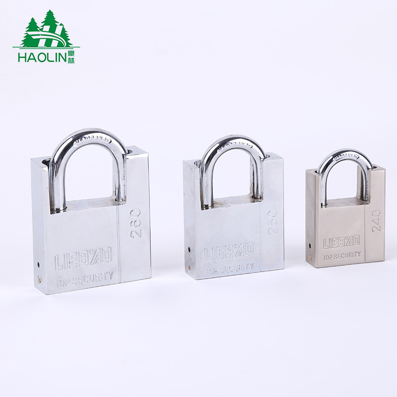 [Manufacturers Direct Selling] Household Anti-Theft Stainless Steel Pure Copper Core Atomic Lock Atomic Package Beam Padlock