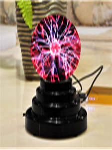 Sphere Light-Bulb Table-Lamp Glass Plasma-Ball Electrostatic Novelty Magic Home-Decoration