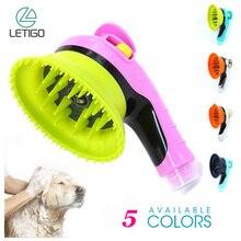 Pet Sprayer Pet Kämmen Massage Dusche Sprayer Waschen Pflege Bade Massage Pinsel Handheld Dusche Für Hunde Katzen