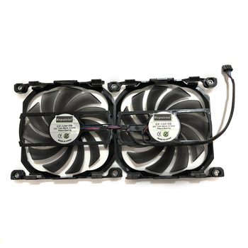 2pcs/set Inno GTX1070TI/1070 GPU VGA Card Cooler Cooling Fan Replacement For INNO3D GEFORCE GTX 1070 GTX1070 TI X2 V2 Graphics image