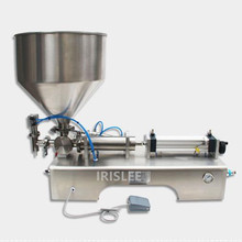 5-3000ml Single Head Liquid Filler Cream Shampoo Pneumatic Filling Machine Piston Cosmetic