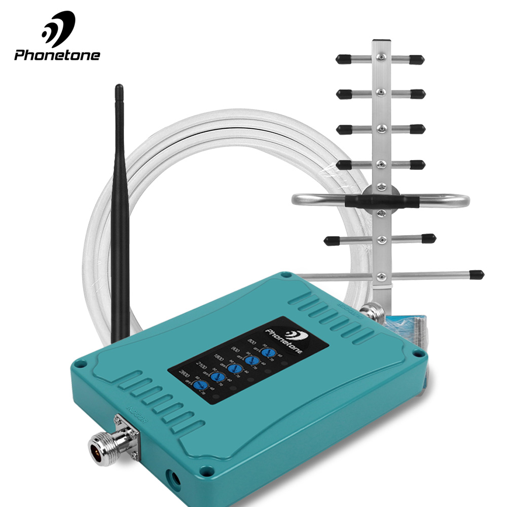 GSM Repeater Cellular 4G Signal Booster 800/900/1800/2100/2600Mhz gsm Gsm Amplifier 2/3G Lte
