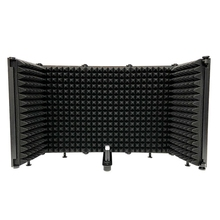 AQA Microphone, Foldable Soundproof Cover, Noise Reduction and Windproof Screen, Suitable for Live Recording Studio