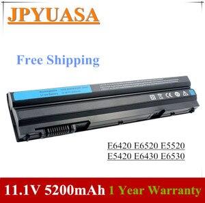 Image 1 - 7XINbox 11,1 V 5200mAh Laptop Batterie T54FJ M5Y0X N3X1D P9TJ0 Für Dell Latitude E6420 E6520 E5520 E5420 E6430 e6530 NHXVW P8TC7