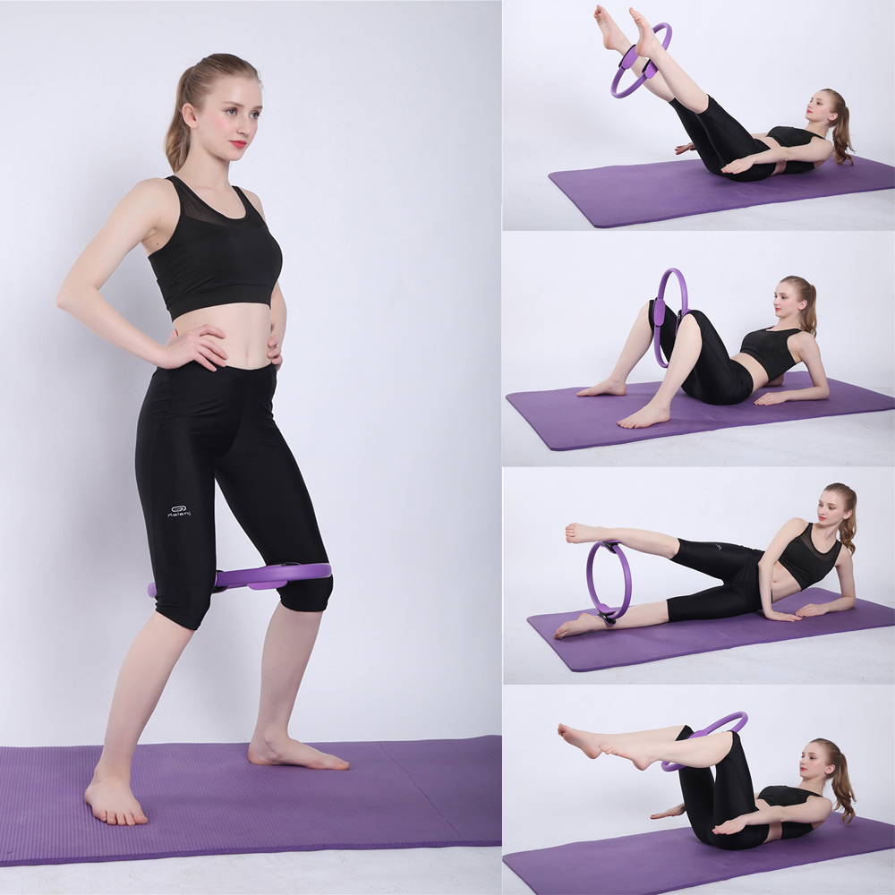 Weight Loss Body Toning Magic Exercise Circle Double Handle Pilates Yoga Ring Pilates Fitness Resistance Training Ring