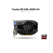 Yeston R5 240 - 4G D3 VA Grafikkarte DirectX 11 Video Karte 4GB/64bit 1333MHz low Power Verbrauch GPU 2 Phase Grafikkarte