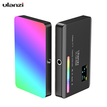 Ulanzi VL120 RGB Mini LED Video Light 2500K 9000K Photography Fill in Light Dimmable CRI95+ 20 Lighting Effects for Vlogging