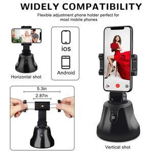 Умная Портативная подставка для телефона с поворотом на 360 ° и автоматическим отслеживанием объекта