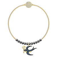 High Quality SWA. Delicate Golden Tarot Swallow Gift Perfect Choice Bracelet