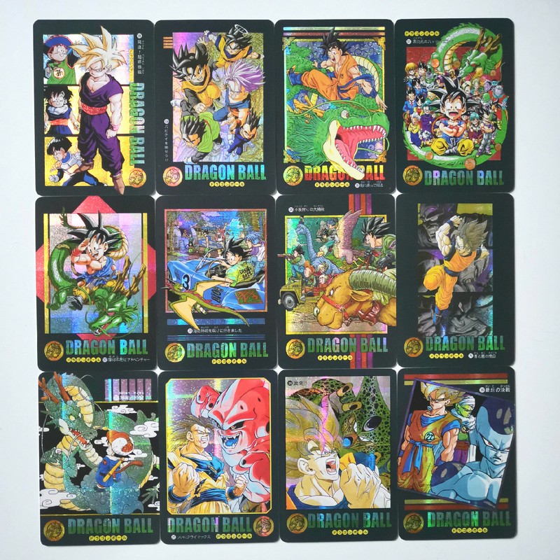 54pcs/set Dragon Ball Z Storm Clouds Collection Super Saiyan Goku Vegeta Game Collection Cards Toys Hobbies Free Shipping
