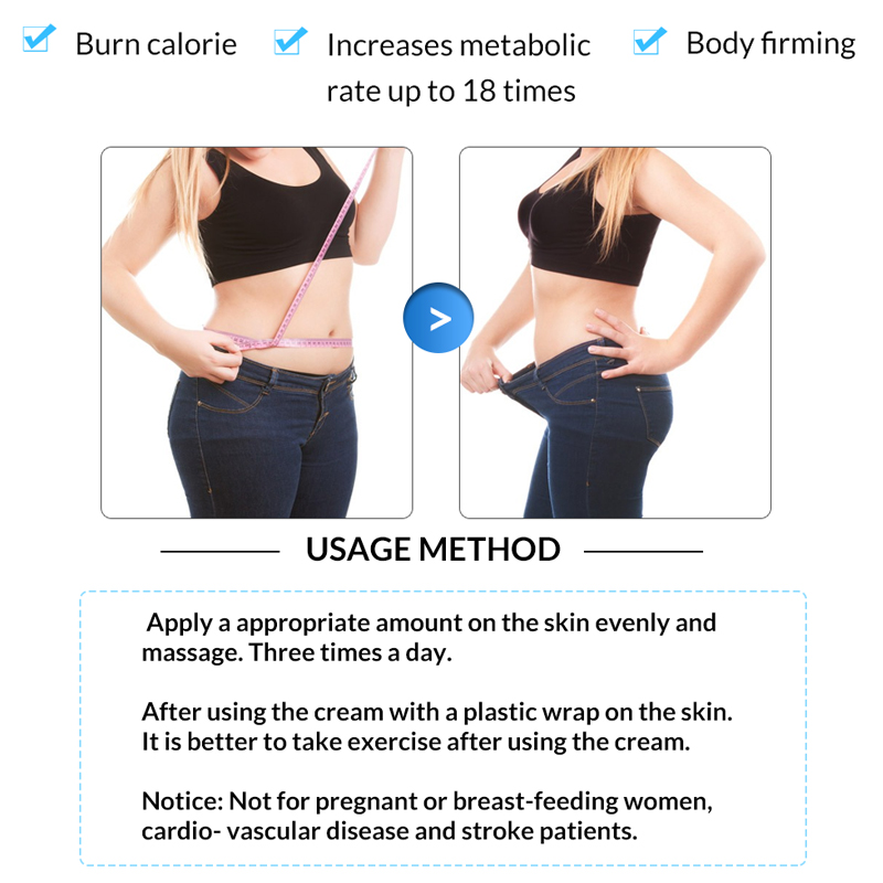 OMY LADY New Cellulite Removal Slimming Cream Women Fast Fat Burning Weight Loss Cream Gel Arm Leg burning Body Care Cream 1