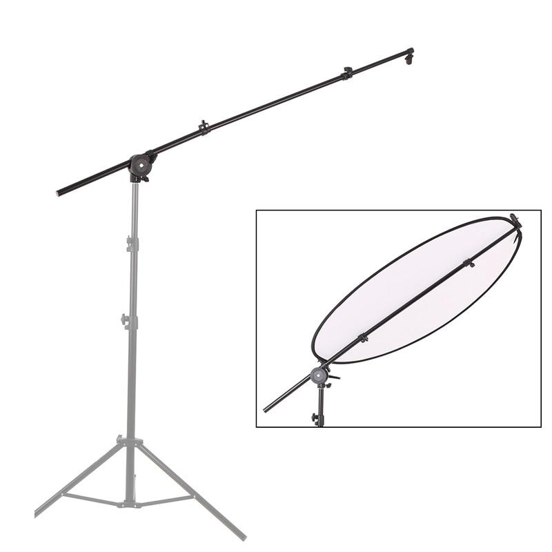 Halter Stehen Erweiterbar Foto Studio Fotografie Reflektor Diffusor Boom Arm Unterstützung withClip Flexible Swivel Grip Kopf Klemme