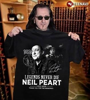 Camiseta para hombre, Legends Never Die, camisetas de mujer con el recuerdo de gracias