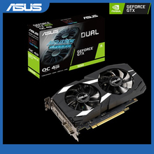 Graphics-Card Oc-Edition Dual-Gtx1650-O4g Geforce Vr-Ready-Hdmi Asus 4gb Gddr5 DP DVI