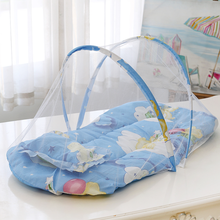Baby Crib Netting Portable Foldable Baby Bed Mosquito Net Polyester Newborn for Summer Travel Bed Netting Play Tent Children