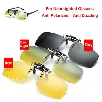 Coche gafas nocturnas gafas de sol polarizadas Clip para Citroen C5 C4 C3 Mini Cooper Opel Astra H G J Vectra C Saab, suzuki