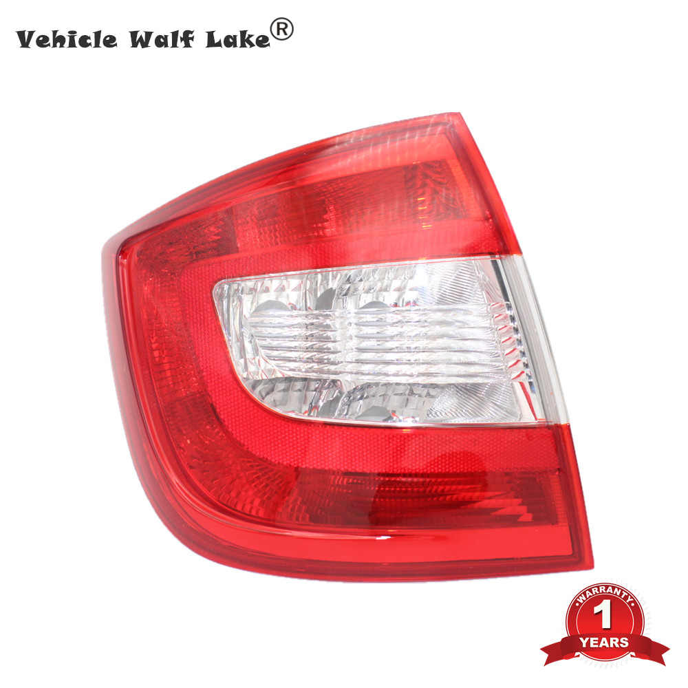 ROYAL STAR TY Tail Lamp for Skoda Rapid 2013 2014 2015 2016 2017 2018 Tail Lamp Right Side Rear Light without Wire Board and Bulbs Color : Red