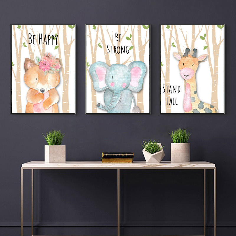 5D DIY Cartoon Tier Diamant Malerei Lion Zebra Bär Fuchs Elefanten Wald Diamant Stickerei Mosaik Kunst Kind Geschenk Home Decor