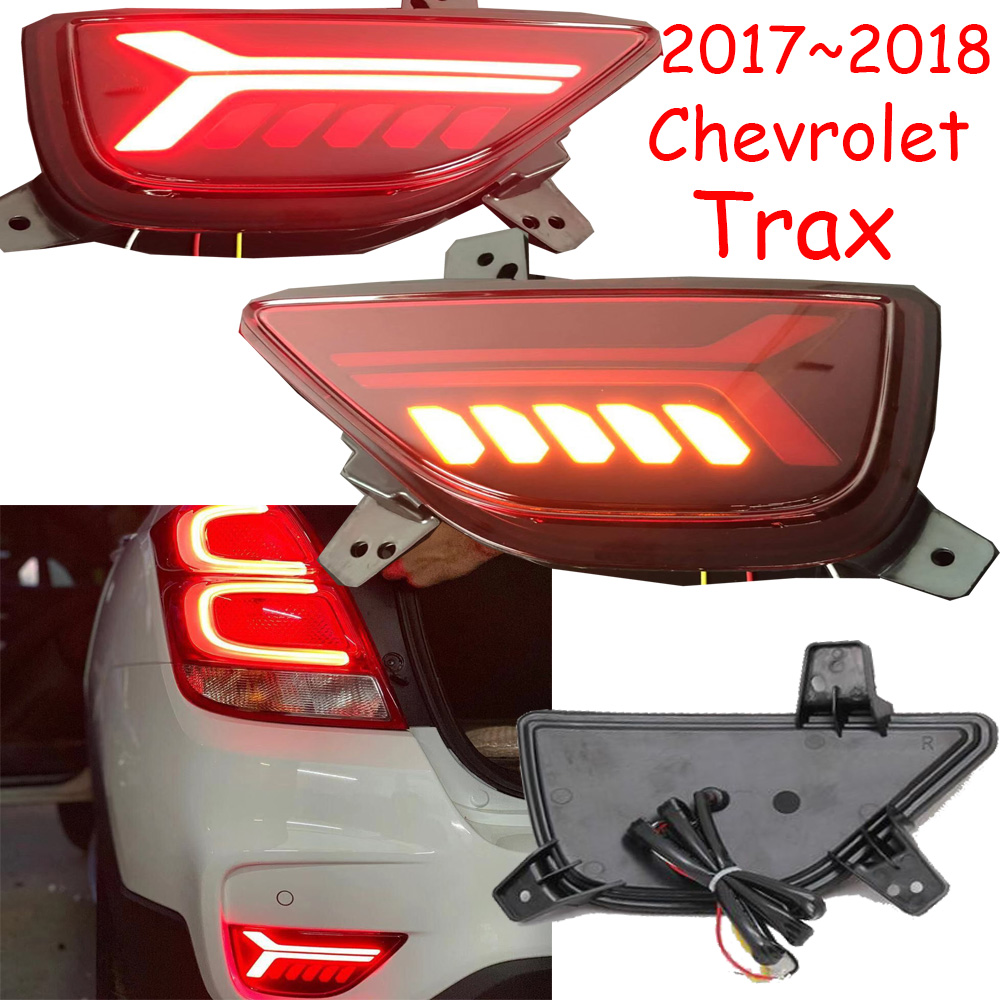 2017~2018year Car Bupmer Taillight For Chevrolet Trax Rear Light Brake LED Car Accessories Taillamp For Trax Rear Light