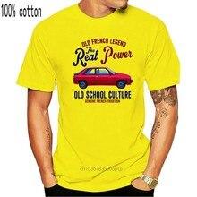Винтажная Футболка RENAULT 11 TURBO с французским автомобилем, новая хлопковая одежда, ветровка в виде кошки, футболка с Мопсом Трамп, футболка от п...
